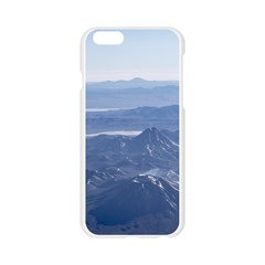 Window Plane View of Andes Mountains Apple Seamless iPhone 6/6S Case (Transparent)