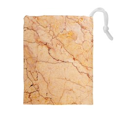 Stone Floor Marble Drawstring Pouches (Extra Large)