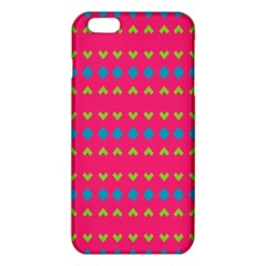 Hearts and rhombus pattern			iPhone 6 Plus/6S Plus TPU Case