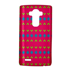 Hearts and rhombus pattern			LG G4 Hardshell Case