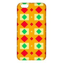 Green red yellow rhombus pattern			iPhone 6 Plus/6S Plus TPU Case