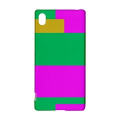 Rectangles And Other Shapessony Xperia Z3+ Hardshell Case