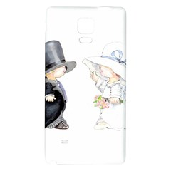 Little Bride And Groom Galaxy Note 4 Back Case