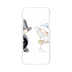 Little Bride and Groom Apple Seamless iPhone 6/6S Case (Transparent)