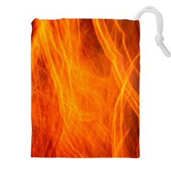 Orange Wonder 2 Drawstring Pouches (XXL)