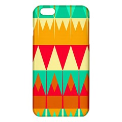 Triangles and other retro colors shapes 			iPhone 6 Plus/6S Plus TPU Case