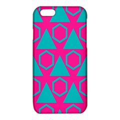 Triangles and honeycombs pattern iPhone 6/6S TPU Case