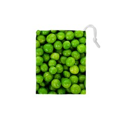 Peas Rule By Ignatius Rake Drawstring Pouches (XS)