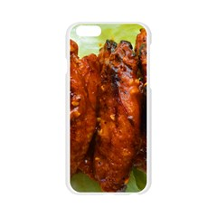 Chicken Wings By Sandi Apple Seamless iPhone 6/6S Case (Transparent)