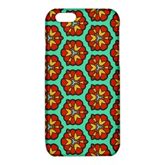 Red flowers pattern 			iPhone 6/6S TPU Case