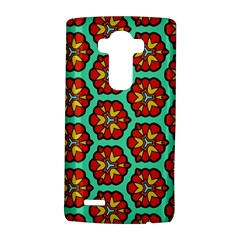 Red Flowers Pattern 			lg G4 Hardshell Case