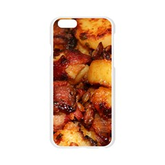 Tetters And Meat By Sandi Apple Seamless iPhone 6/6S Case (Transparent)