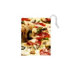 Pizza By Sandi Drawstring Pouches (XS)