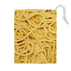 Spaghetti By Sandi Drawstring Pouches (Extra Large)