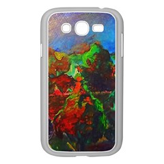 Chicago Park Painting Samsung Galaxy Grand Duos I9082 Case (white)