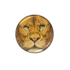 Regal Lion Drawing Hat Clip Ball Marker