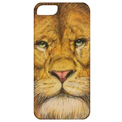 Regal Lion Drawing Apple Iphone 5 Classic Hardshell Case