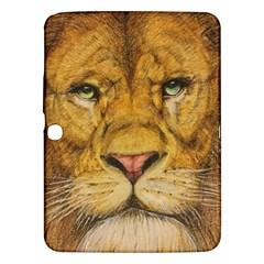 Regal Lion Drawing Samsung Galaxy Tab 3 (10 1 ) P5200 Hardshell Case