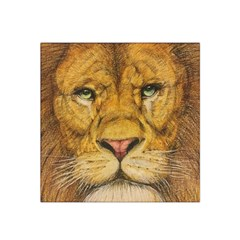 Regal Lion Drawing Satin Bandana Scarf