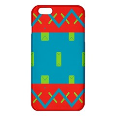 Chevrons and rectangles 			iPhone 6 Plus/6S Plus TPU Case