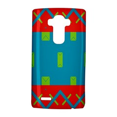 Chevrons and rectangles 			LG G4 Hardshell Case