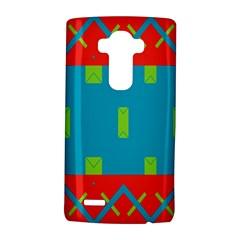 Chevrons and rectangles LG G4 Hardshell Case