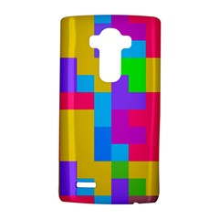 Colorful tetris shapes 			LG G4 Hardshell Case