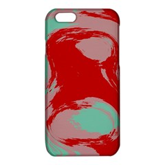 Red pink green texture 			iPhone 6/6S TPU Case