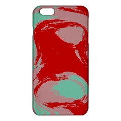 Red pink green texture iPhone 6 Plus/6S Plus TPU Case