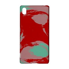 Red Pink Green Texture 			sony Xperia Z3+ Hardshell Case