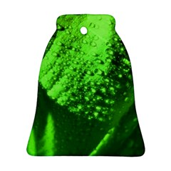 Green And Powerful Bell Ornament (2 Sides)