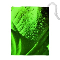 Green And Powerful Drawstring Pouches (xxl)