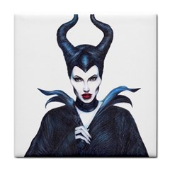 Maleficent Drawing Tile Coasters