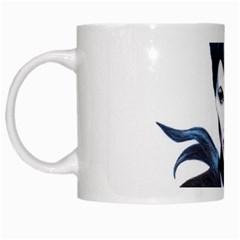 Maleficent Drawing White Mugs