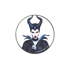 Maleficent Drawing Hat Clip Ball Marker (4 Pack)