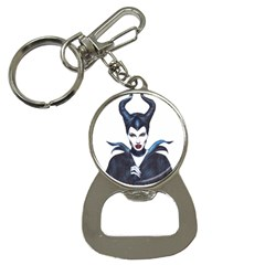 Maleficent Drawing Bottle Opener Key Chains