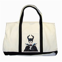 Maleficent Drawing Two Tone Tote Bag