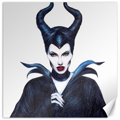 Maleficent Drawing Canvas 12  X 12