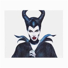 Maleficent Drawing Small Glasses Cloth (2 Side)