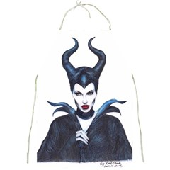 Maleficent Drawing Full Print Aprons