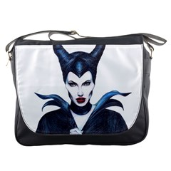 Maleficent Drawing Messenger Bags