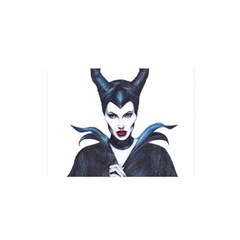 Maleficent Drawing Satin Wrap