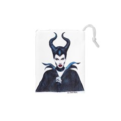 Maleficent Drawing Drawstring Pouches (xs)