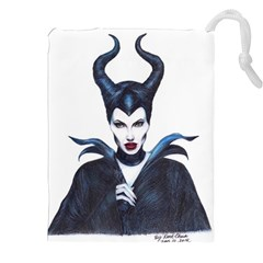Maleficent Drawing Drawstring Pouches (XXL)