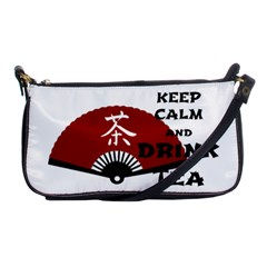 Keep Calm And Drink Tea   Asia Edition Shoulder Clutch Bags