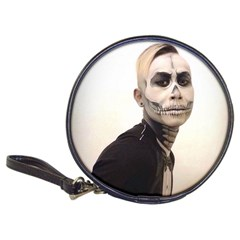 Halloween Skull And Tux  Classic 20 Cd Wallets