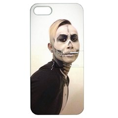 Halloween Skull And Tux  Apple Iphone 5 Hardshell Case With Stand