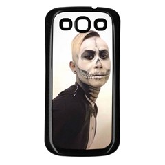 Halloween Skull And Tux  Samsung Galaxy S3 Back Case (black)