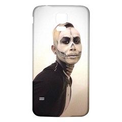 Halloween Skull And Tux  Samsung Galaxy S5 Back Case (white)
