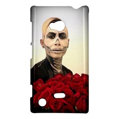 Halloween Skull Tux And Roses  Nokia Lumia 720